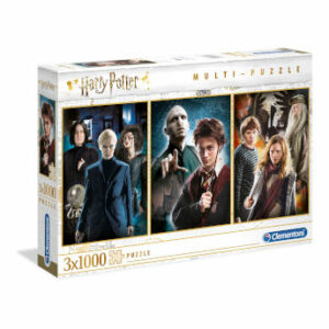 Pack de 3 puzzles 1000 piezas Harry Potter - Clementoni