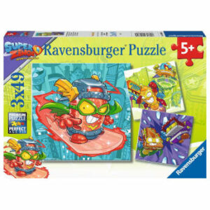 Puzzle Superthings Rivals of Kaboom 3x49 piezas - Ravensburger